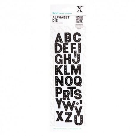 Troquel Alfabeto HEADLINER