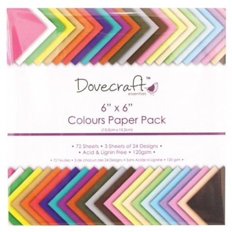 Colours Paper Pack