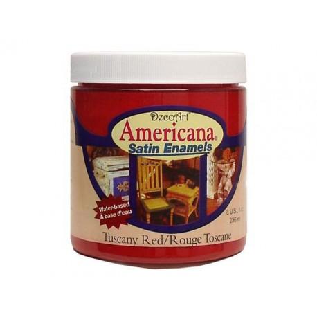Americana Satin TUSCANY RED