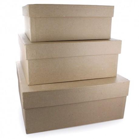 Set Cajas Cuadradas