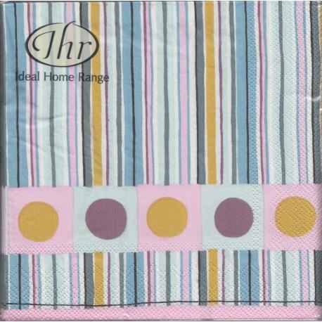 SERVILLETAS- Dots & Stripes