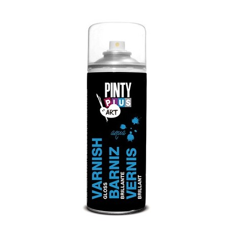 Barniz Spray BRILLO PINTY PLUS