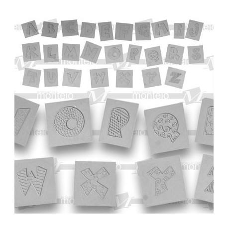 Metal-formas mod. 42 abecedario p/u