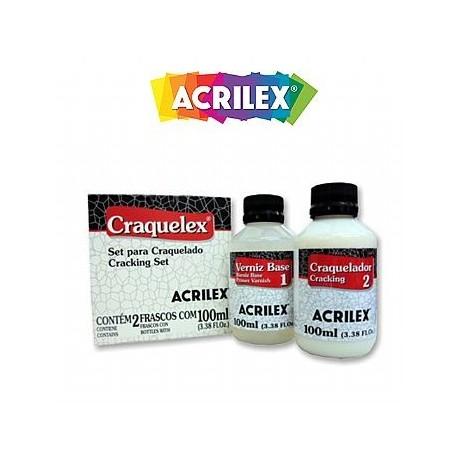 ACRILEX Set Craquelador Craquelex