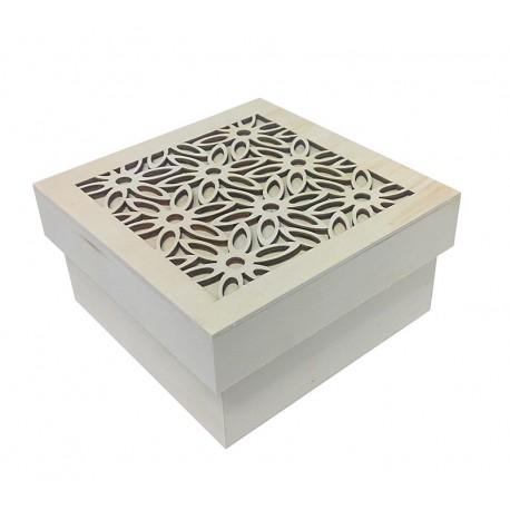Caja con calados