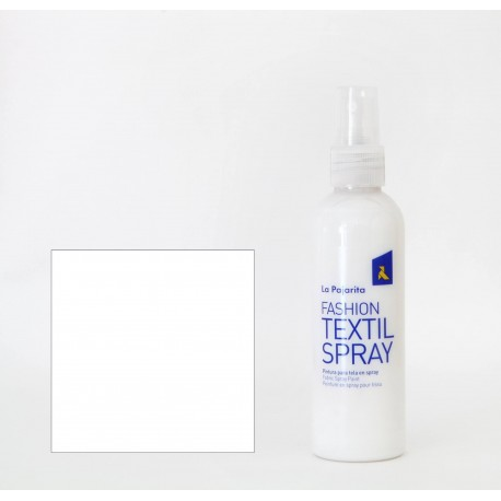 Pintura Textil en Spray WHITE COCO