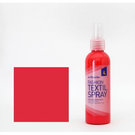 Pintura Textil en Spray CHERRY