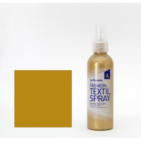 Pintura Textil en Spray GOLD SUN