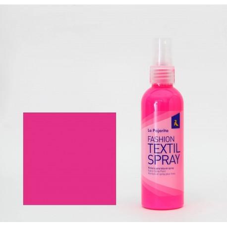Pintura Textil en Spray FLUOR PINK