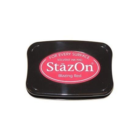 Tinta STAZON Blazing Red