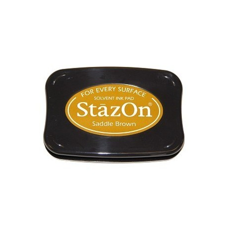 Tinta STAZON Saddle Brown