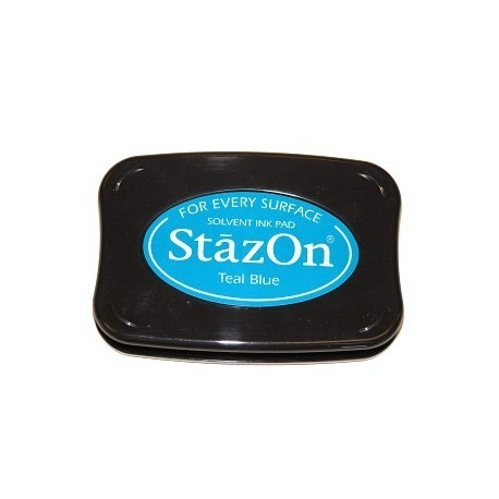 Tinta STAZON Teal Blue