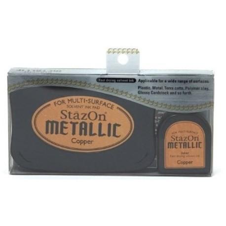 Tinta STAZON METALLIC Gold