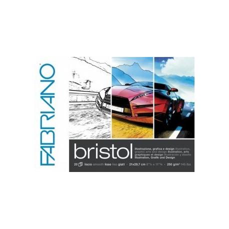 Block liso para ilustración BRISTOL