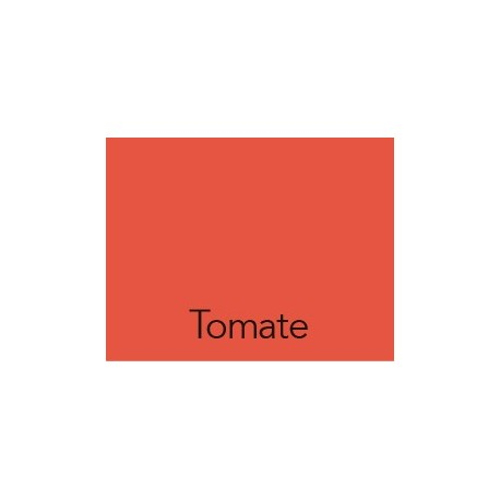 Cartulina 50x60 IRIS Tomate