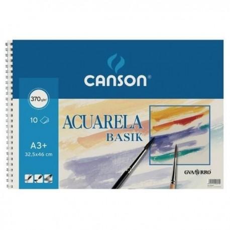 Bloc acuarela CANSON A3+