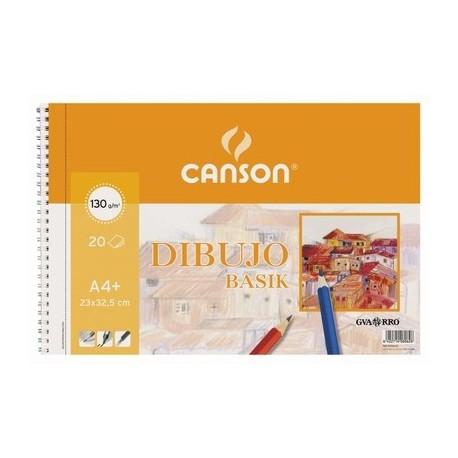 Bloc espiral dibujo CANSON A4+