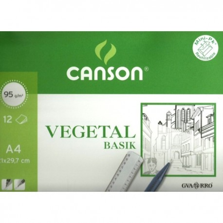 Mini-Pack Vegetal CANSON A3
