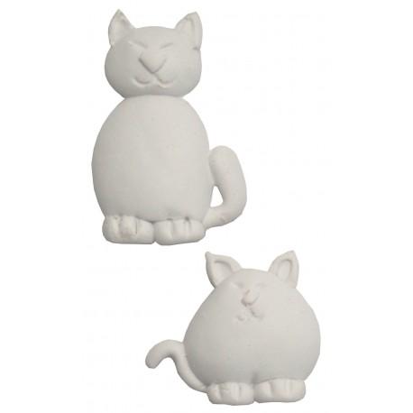 LES PETITS Mini Aplique Gatos