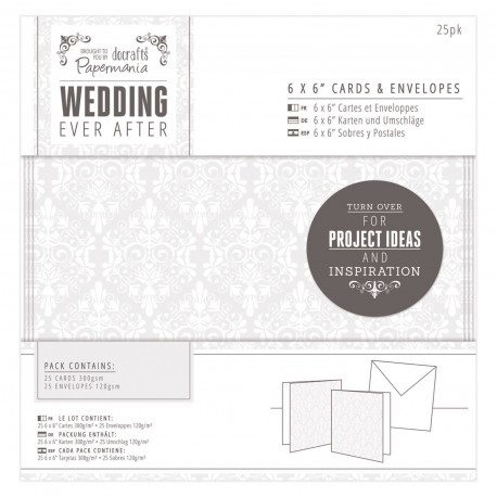 WEDDING Postales y sobres