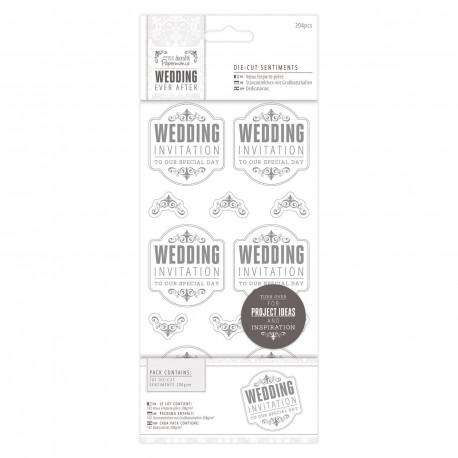 WEDDING Invitaciones Plata