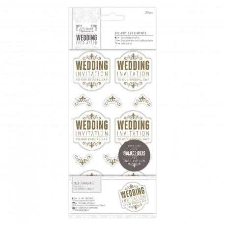 WEDDING Invitaciones Oro