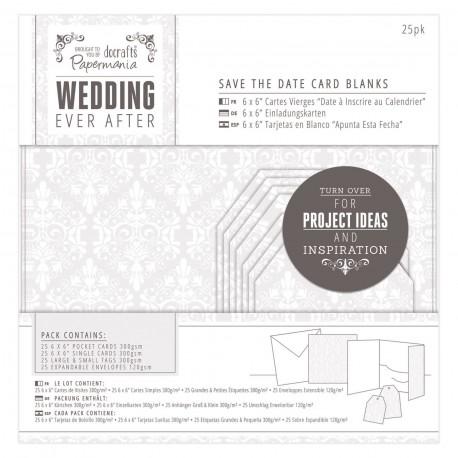 WEDDING kit Postales y sobres