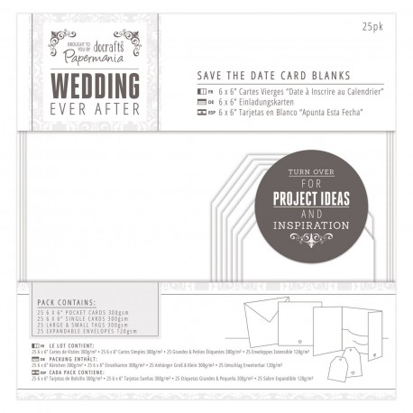 WEDDING kit Postales y sobres