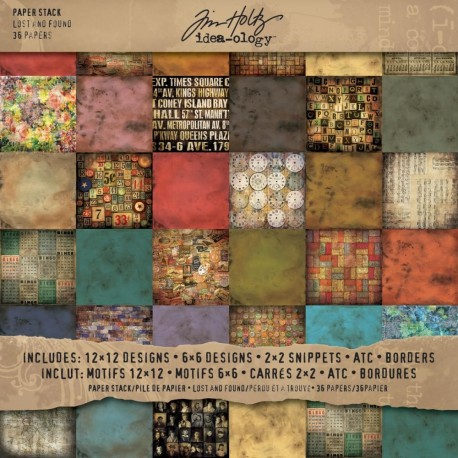 Papeles Lost & Found TIM HOLTZ