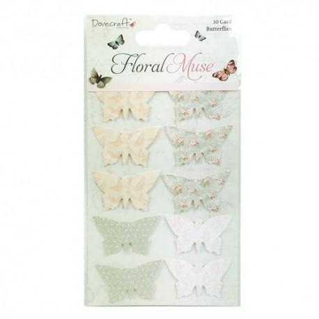 FLORAL MUSE Mariposas 3D