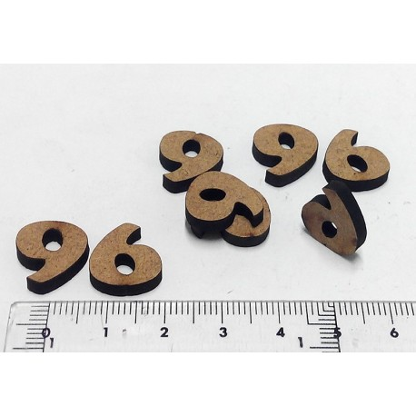 -6- Mini Número DM