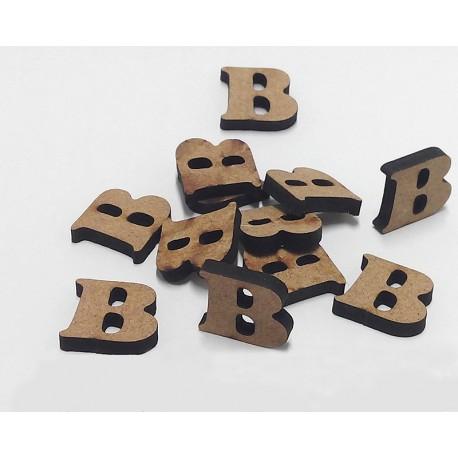 -B- Mini Letra 1,5cm DM