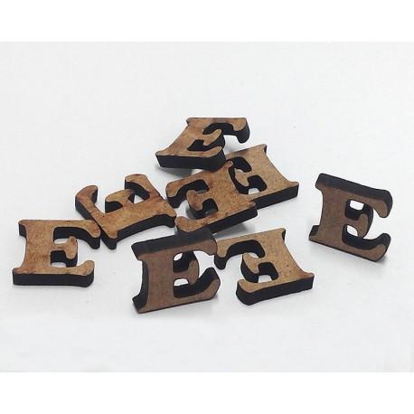 -E- Mini Letra 1,5cm DM