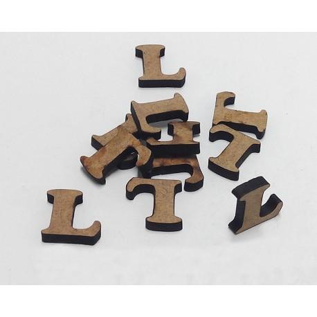 -L- Mini Letra 1,5cm DM