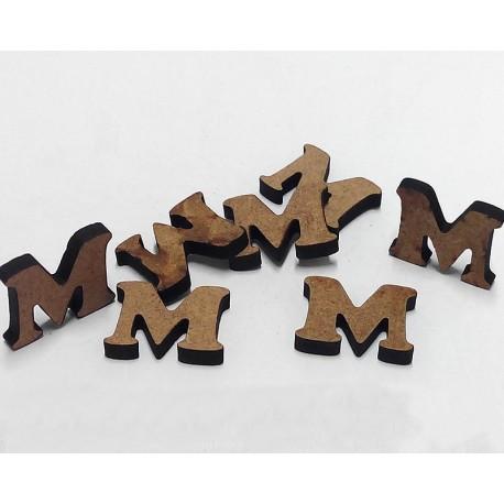 -M- Mini Letra 1,5cm DM