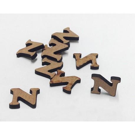 -N- Mini Letra 1,5cm DM