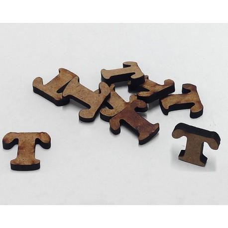 -T- Mini Letra 1,5cm DM