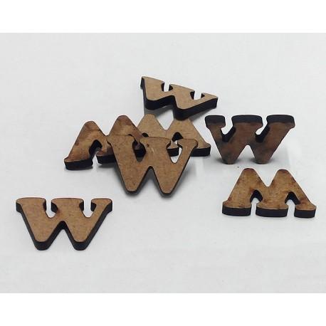 -W- Mini Letra 1,5cm DM