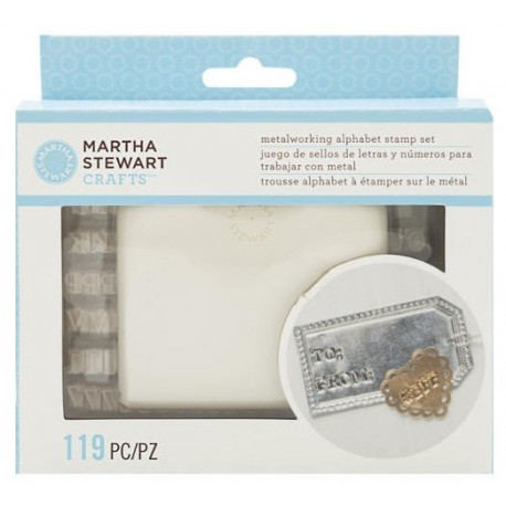 Metal Working Letter Stamp MARTHA STEWART