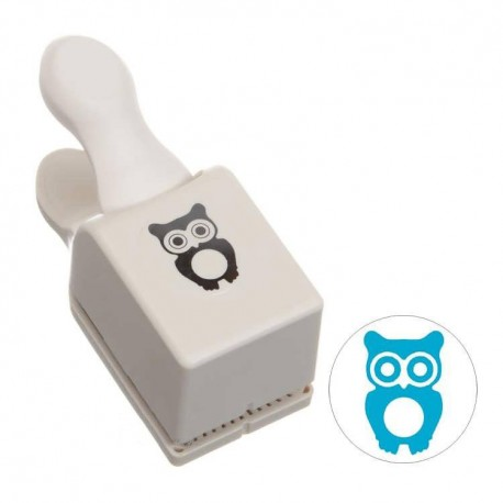 Punch Medium Owl Emboss MARTHA STEWART