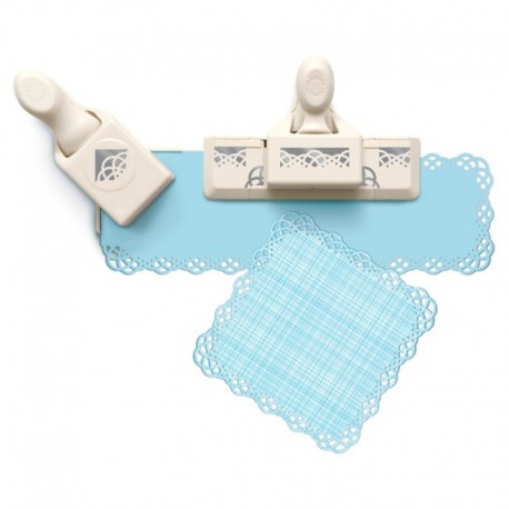 Set Punch Swirling Lace MARTHA STEWART