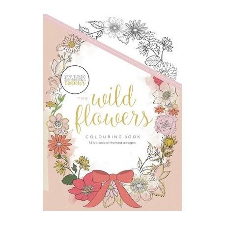 THE WILD FLOWERS Libro para colorear