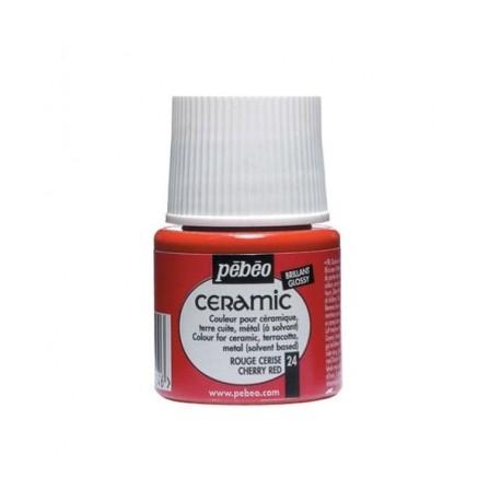 Pintura Rojo Cereza CERAMIC
