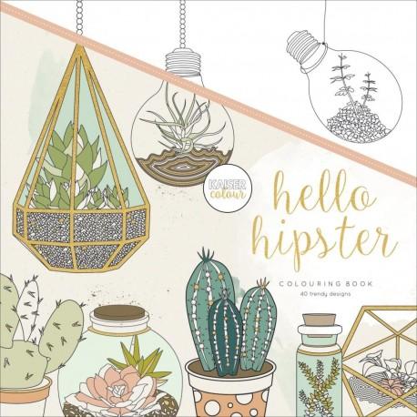 HELLO HIPSTER Libro para colorear