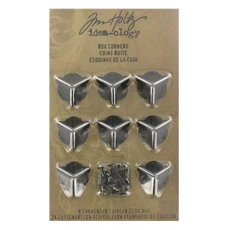 Esquinas metálicas para cajas TIM HOLTZ