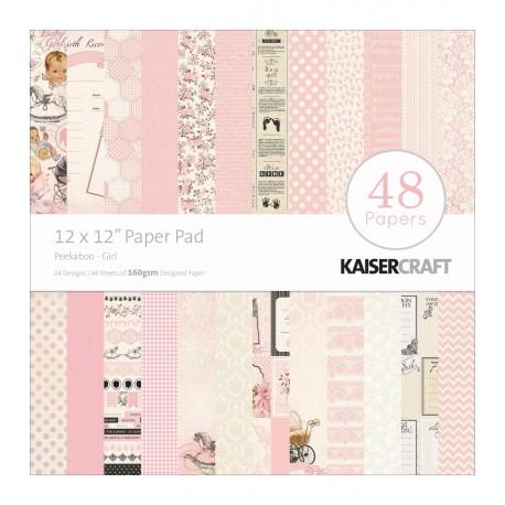 Papeles PEEKABOO GIRL KaiserCraft