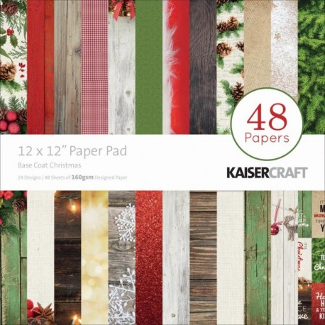 Papeles BASE COAT CHRISTMAS KaiserCraft