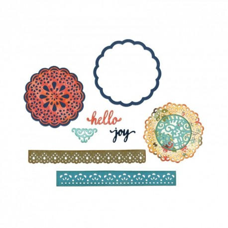 Troquel Thinlits HELLO DOILY