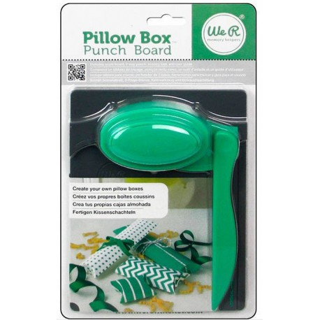 PILLOW BOX PUNCH BOARD We R Memory Keepers