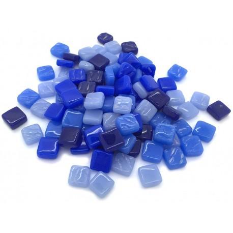 Teselas de vidrio MIX AZULES